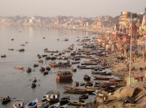 Varanasi on the Ganga (Ganges)